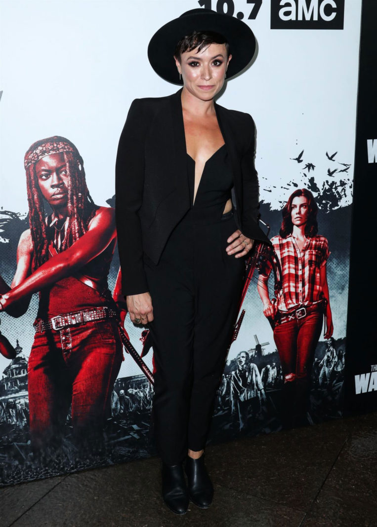 Briana Venskus at The Walking Dead Premiere Party in Los Angeles