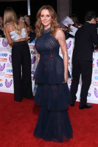 Carol Vorderman at Pride of Britain Awards 2018 in London