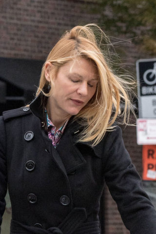 Claire Danes Out in New York