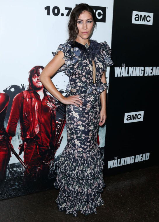 Eleanor Matsuura at The Walking Dead Premiere Party in Los Angeles