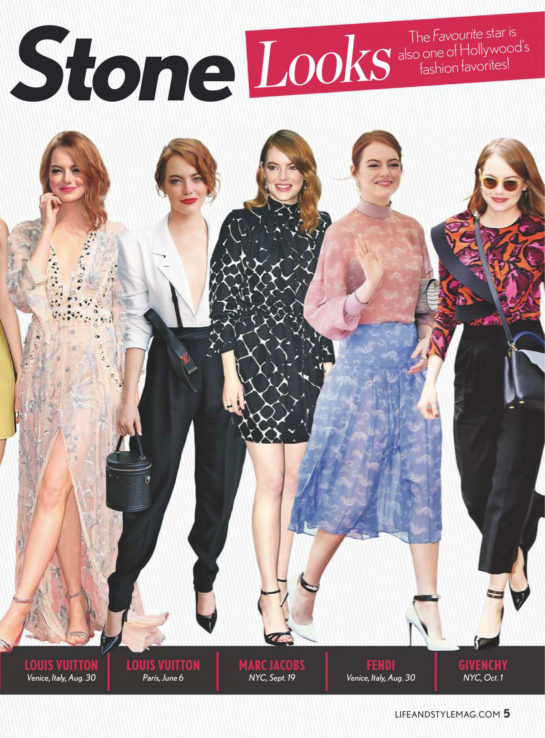 Emma Stone in Life & Style Weekly (November 2018)