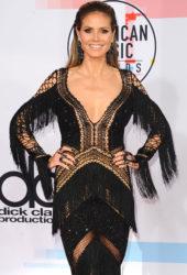 Heidi Klum at 2018 American Music Awards in Los Angeles