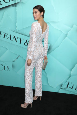 Hikari Mori at Tiffany & Co. Celebrates 2018 Tiffany Blue Book Collection in New York