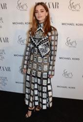 Jenna Coleman at Harper's Bazaar Women of the Year Awards in London