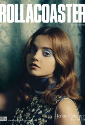 Jenna-Louise Coleman for Rollacoaster AutumnWinter 2018