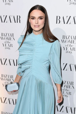 Keira Knightley at Harper's Bazaar Women of the Year Awards in London
