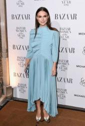 Keira Knightley at Harper's Bazaar Women of the Year Awards in London