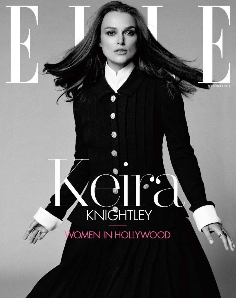 Keira Knightley in Elle Women in Hollywood (November 2018)