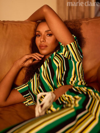 Kerry Washington in Marie Claire Magazine (November 2018)
