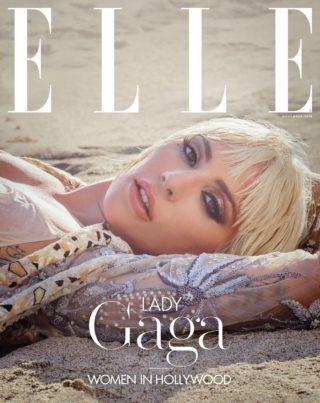Lady Gaga in Elle Women in Hollywood (November 2018)