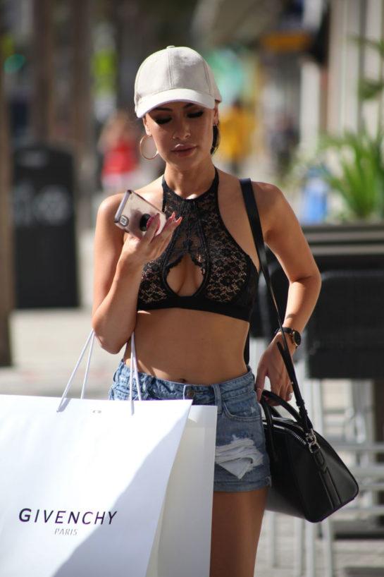 Lisa Opie Shopping in Miami