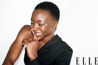 Lupita Nyong'o Danai Gurira and Angela Bassett in Elle Women in Hollywood (November 2018)