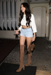 Madison Beer at Delilah in West Hollywood