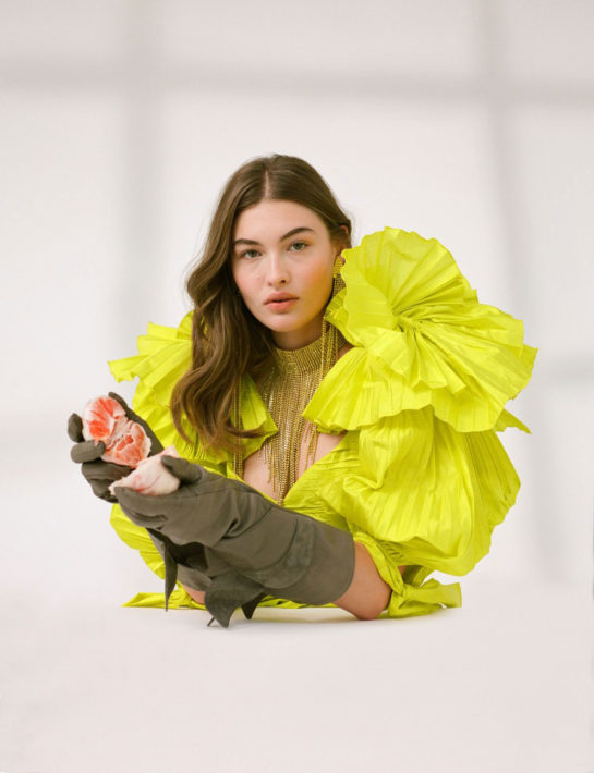 Grace Elizabeth Photoshoot for CR Fashion Book 2018