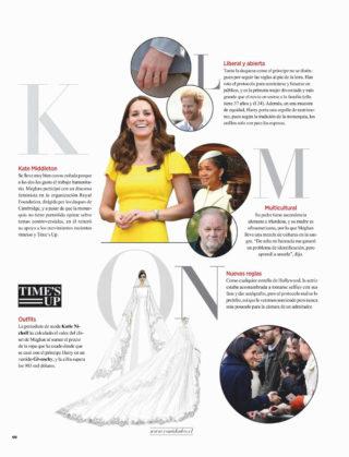 Meghan Markle in Vanidades Magazine (Chile October 2018)
