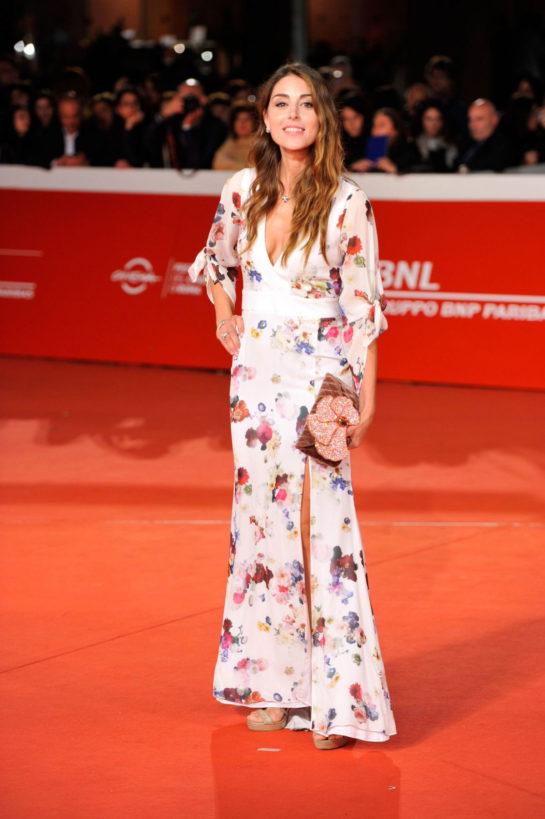"Miriam Candurro at ""The Girl in The Spider's Web"" Premiere at Rome Film Festival"
