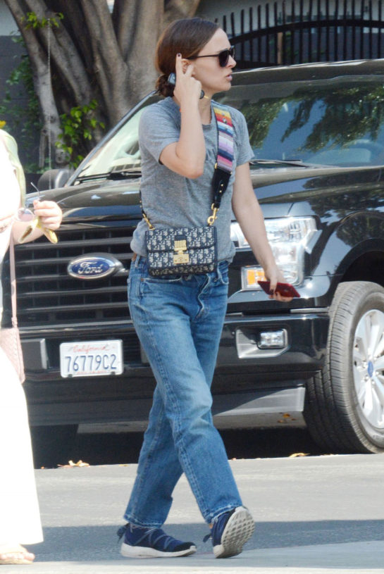 Natalie Portman Out and About in Los Angeles