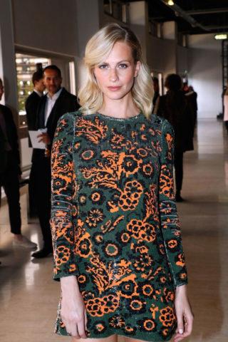 Poppy Delevingne at Giambattista Valli Fashion Show in Paris