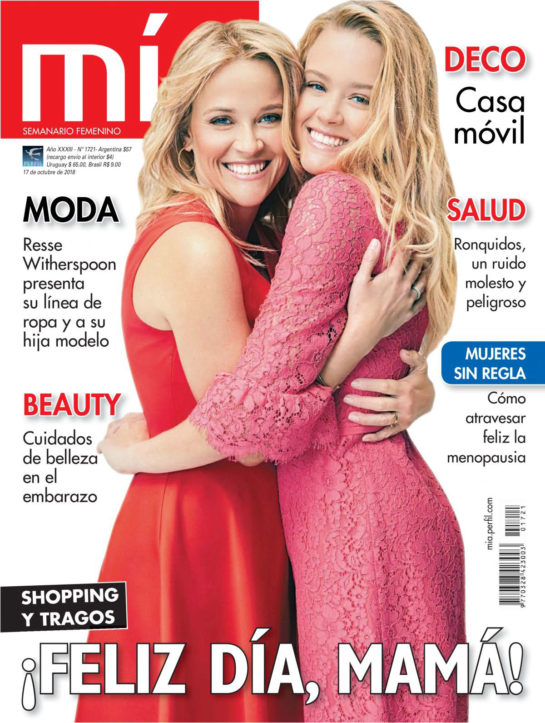 Reese Witherspoon and Ava Phillippe in Mia Magazine (Argentina October 2018)