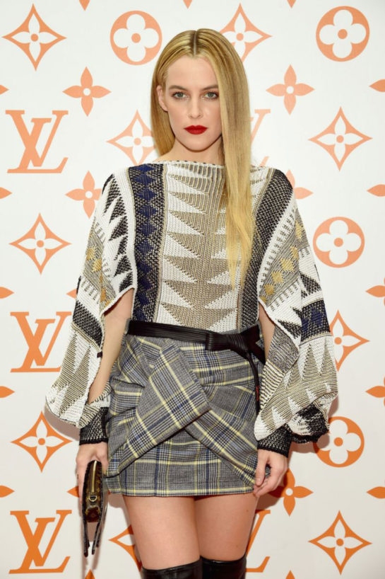 Riley Keough at Louis Vuitton X Grace Coddington Event in New York