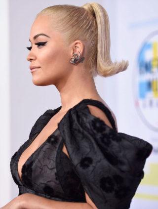 Rita Ora at 2018 American Music Awards in Los Angeles