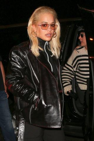 Rita Ora at Craig's in West Hollywood