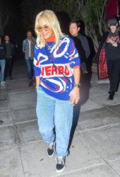 Rita Ora at Matsuhisa Restaurant in West Hollywood