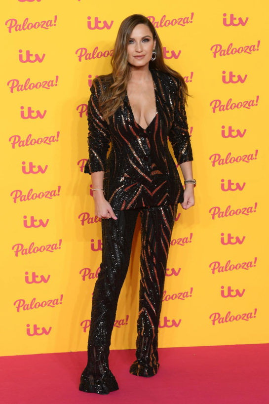 Sam Faiers at ITV Palooza 2018 in London