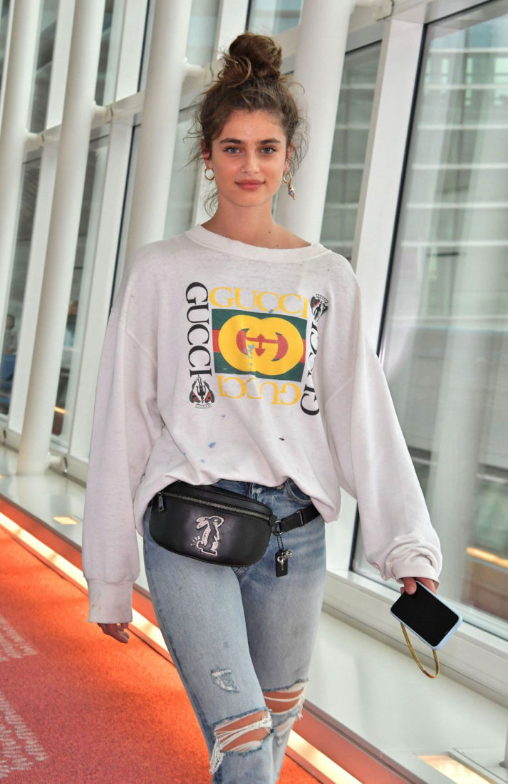 Taylor Hill at Tokyo International Airport