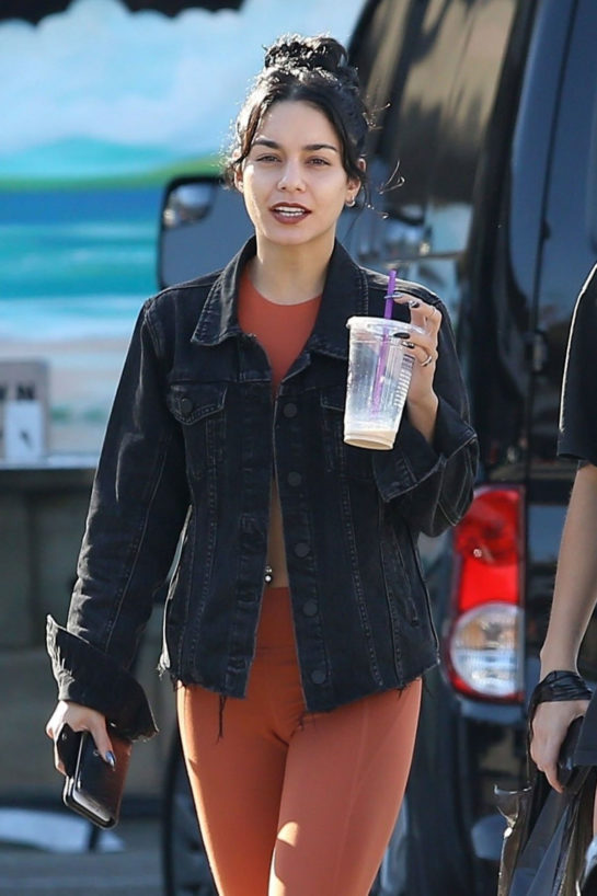 Vanessa Hudgens at a Local Halloween Store in Los Angeles