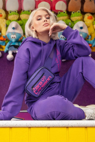 Zara Larsson for her NA-KD Fashion Collection (2018)