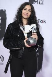Alessia Cara at MTV EMA's 2018 in Bilbao