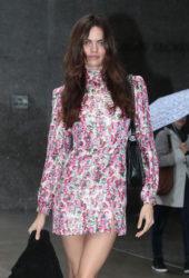 Barbara Fialho at Victoria's Secret Fashion Show Fittings in New York
