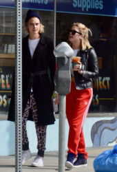 Cara Delevingne and Ashley Benson out for coffee in Studio City