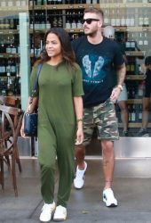 Christina Milian and Matt Pokora Out in Los Angeles