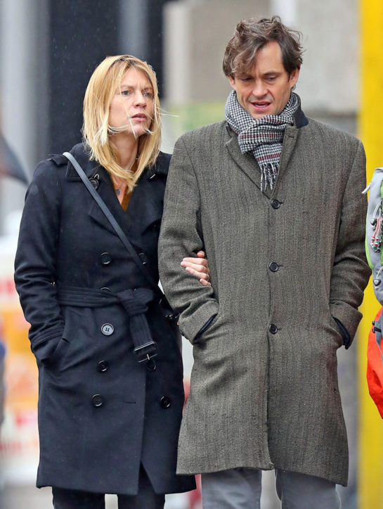 Claire Danes and Hugh Dancy Out Shopping in New York
