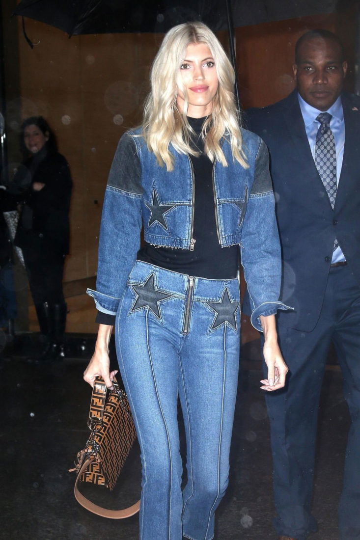 Devon Windsor at Victoria's Secret Fashion Show Fittings in New York