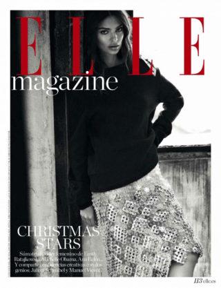 Emily Ratajkowski in Elle Magazine (Spain December 2018)