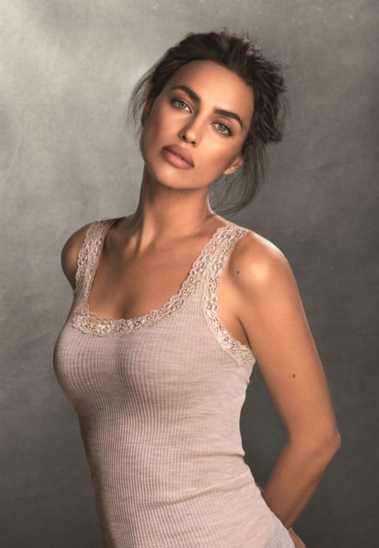 Irina Shayk Intimissimi Knitwear Line Photoshoot (November 2018)