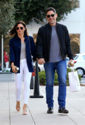 Jenna Dewan and Steve Kazee Out in Beverly Hills