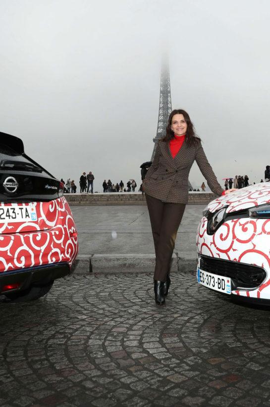 Juliette Binoche at Nissan and Renault Photoshoot in Paris