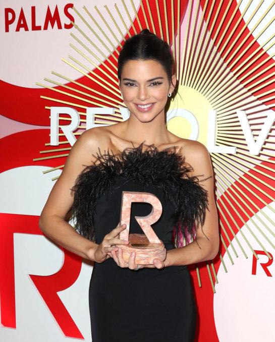 Kendall Jenner at #RevolveAwards in Las Vegas