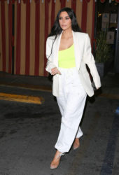 Kim Kardashian Night Out in Hollywood