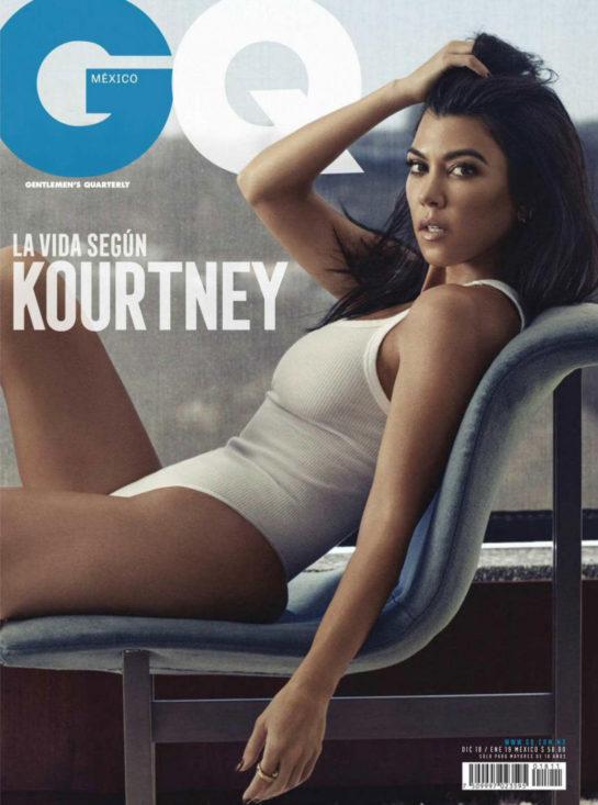Kourtney Kardashian in GQ Magazine (Mexico December 2018)