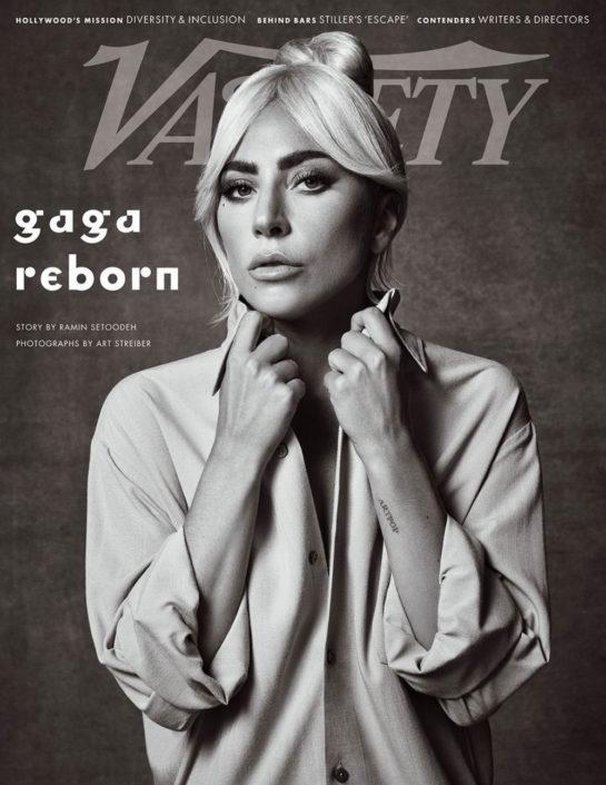 Lady Gaga for Variety Magazine, November 2018 Issue