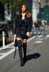 Lorena Rae at Victoria's Secret Fashion Show Fittings in New York