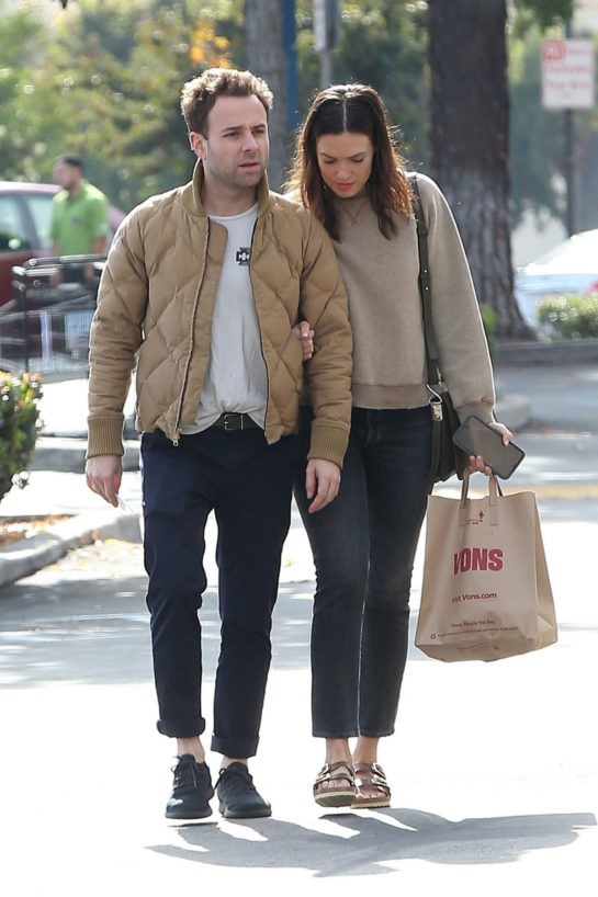 Mandy Moore and Ryan Adams Out Shopping in Los Angeles