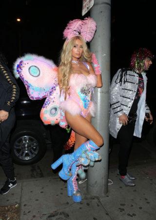 Paris Hilton at Mathew Morrison's Halloween Party in West HollywoodParis Hilton at Mathew Morrison's Halloween Party in West Hollywood