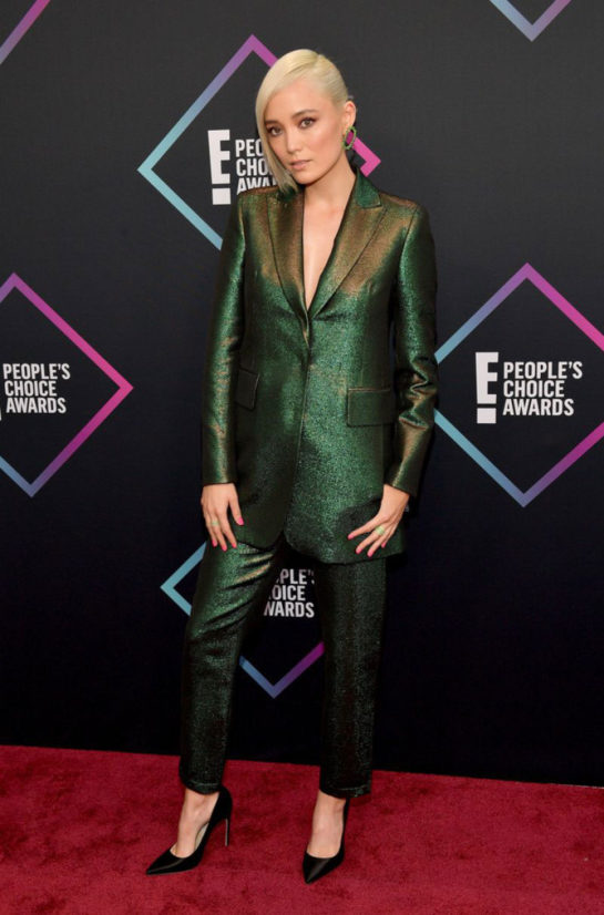 Pom Klementieff at People's Choice Awards 2018 in Santa Monica