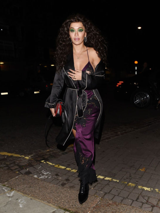 Rita Ora Arrives at Laylow Party in London